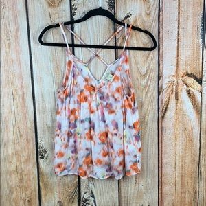 Tops - Lucky brand • watercolor tank